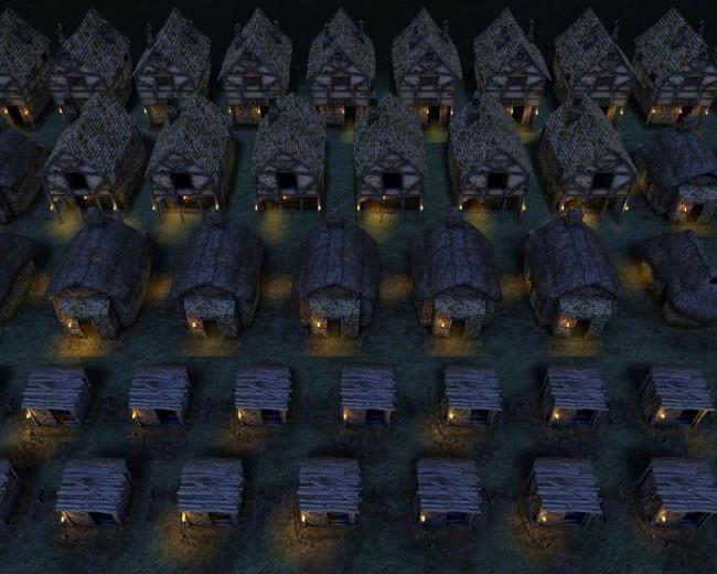 Dank Deferred Rendering sind hunderte dynamische Lichtquellen kein Problem!