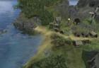 Ein Dorf an der Küste
