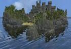 Eine Insel-Burg