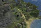 Eine Luftaufnahme der Siedlung