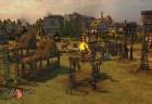 Dorfleben außerhalb der schützenden Burgmauern