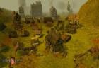 Dorfszene bei Tag